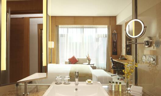 View of King Deluxe Room with Private Balcony