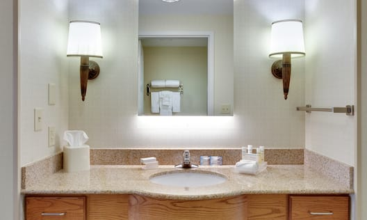 Private Vanity and Bath Area