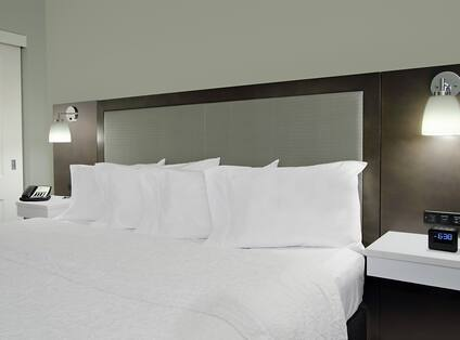 King Bed in Accessible Whirlpool Suite
