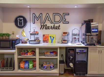 Made Market with Snack Options