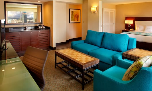 Suite Mountain View Room