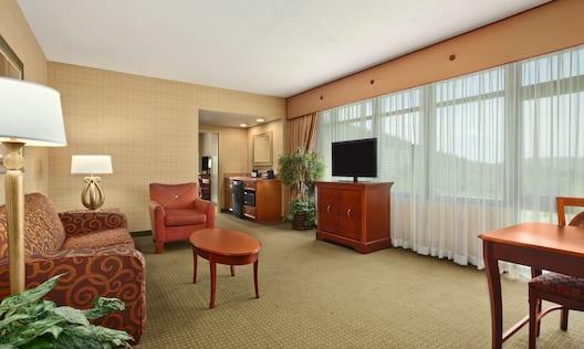 Corner Parlor Living Area