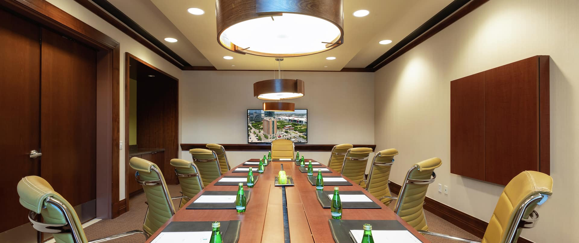 Conference Room with Seating for 12 Guests