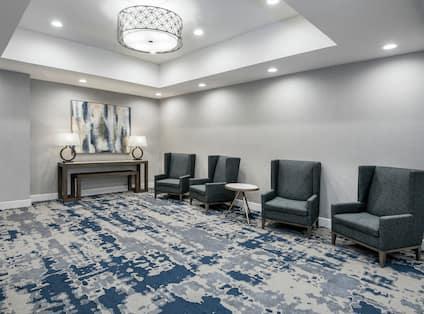 Hotel Prefunction Meeting Area