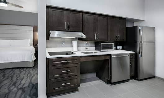 Accessible King Studio Kitchen