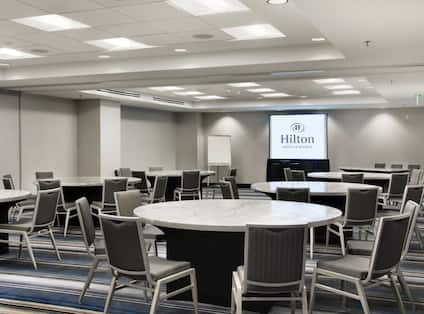 Meeting Rooms with Round Tables