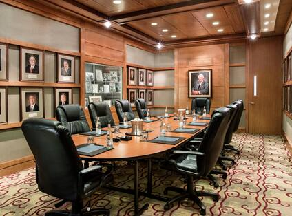 Eric Hilton Boardroom