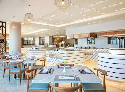 Hotel Onsite Restaurant Offering All Day Dining