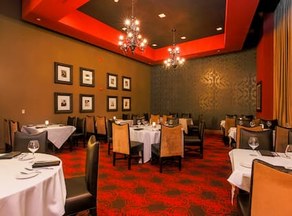 Level 2 Steakhouse Seating