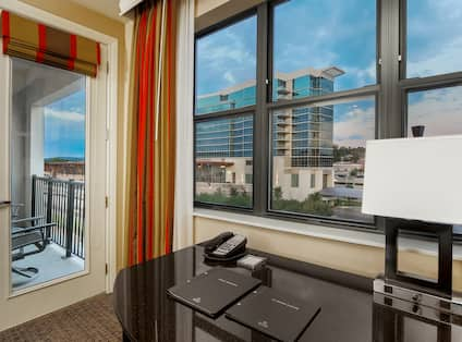 Hilton Promenade at Branson Landing Hotel, MO - One King Superior Room View