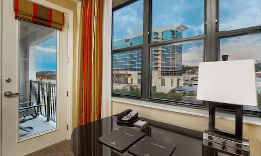 Hilton Promenade at Branson Landing Hotel, MO - One King Superior Room View
