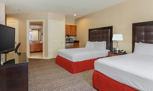 Hilton Promenade at Branson Landing Hotel, MO - Accessible Superior Room Amenities