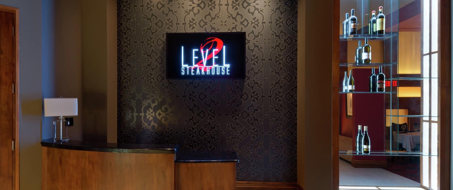 Level 2 Steakhouse Reception