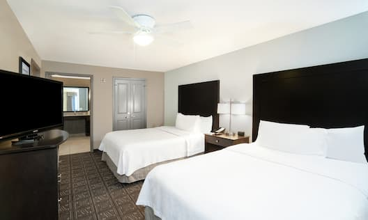 Two Double Bed Guestroom Suite