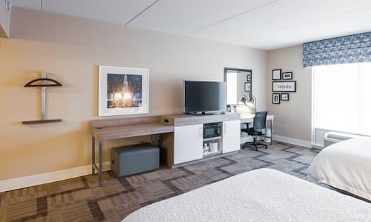 Accessible Non-Smoking Double Queen Bedroom