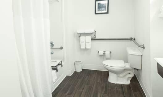 Accessible Double Queen Bathroom