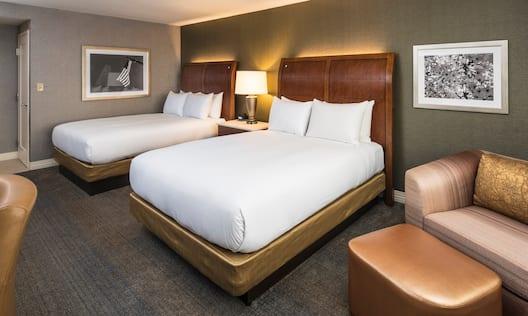 Standard 2 Queen Guest Room