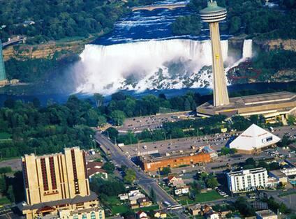 Ontario - Niagara Falls Ariel View