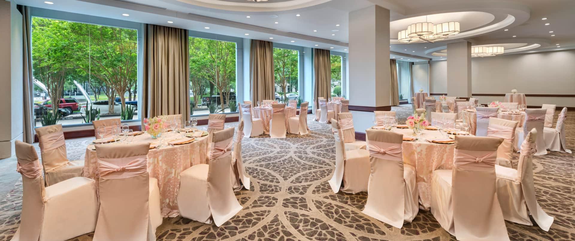 Ballroom Reception Setup