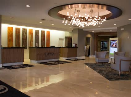 Lobby With Front Desk
