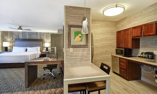 Accessible Bedroom and Kitchen