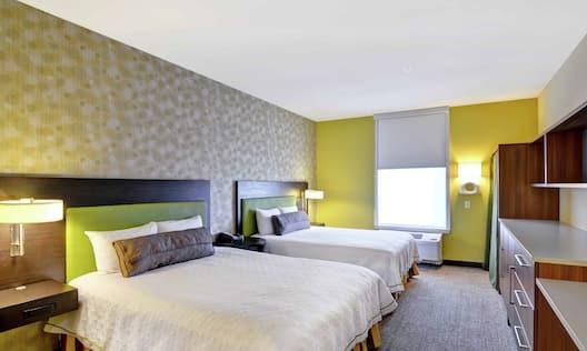 Studio Suite with 2 Queen Beds