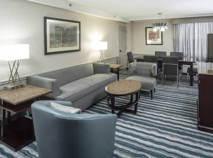 Premium Suite Living Area