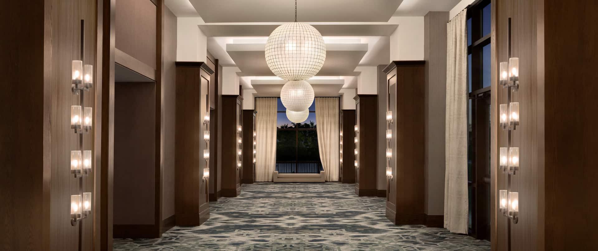 Pre-Function Meeting Space Corridor