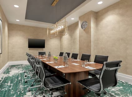 Executive Boardroom and Meeting Area