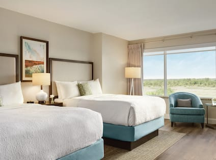 Two Doubles Guestroom With River View