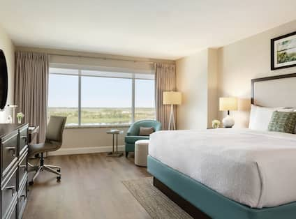 Single King Standard Guestroom With River View