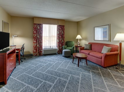 Living Area with Extra Space
