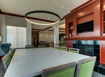 Table in Lobby