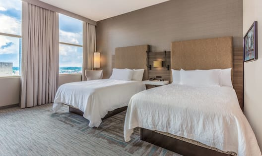 Two Double Beds Suite Bedroom