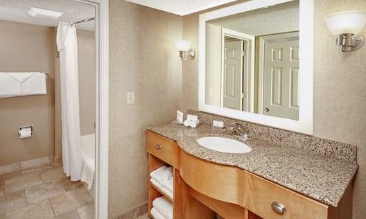 Bathroom in King Room