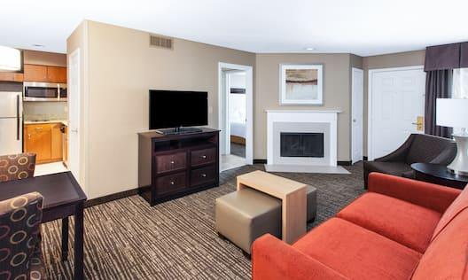 King Room Lounge Area