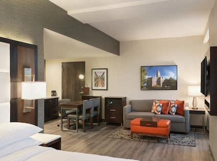 Studio Suite Living and Dining Area