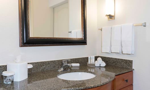 King Suite Bathroom Vanity