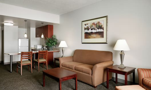 Two Room Suite Living Area