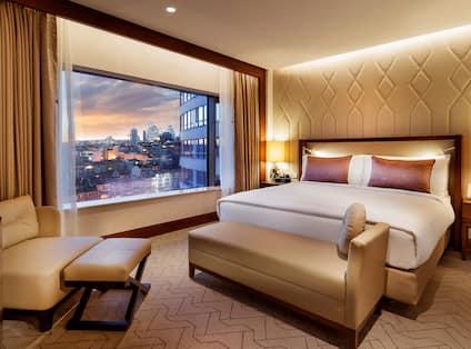 Park Suite with Terrace Bedroom