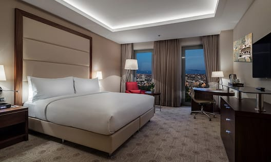 DoubleTree by Hilton Istanbul Topkapi Hotel, TR - KING DELUXE ROOM WITH SEA VIEW