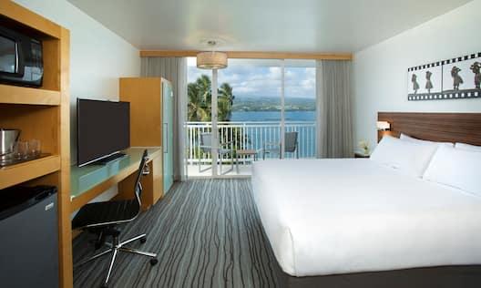 King Bed Ocean View