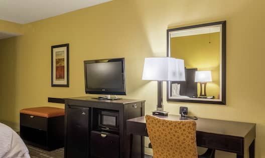 Guest Room Work Desk and Amenities