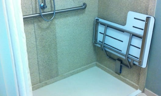 King Accessible Roll In Shower