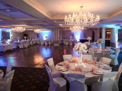 Sterling Ballroom - Wedding Setup