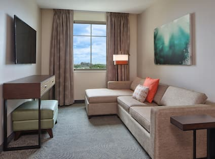 Suite Living Area with HDTV