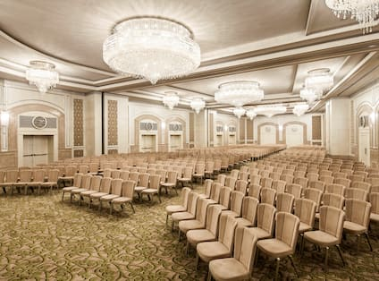 Grand Ballroom, Theater Style - Angle View