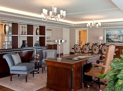 Palace Suite Work Area