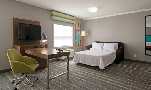Sofa Bed in Suite