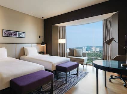 Twin Deluxe Room with View